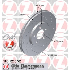 Fren diski SPORT BRAKE DISC COAT Z 100.1235.52 ZİMMERMAN